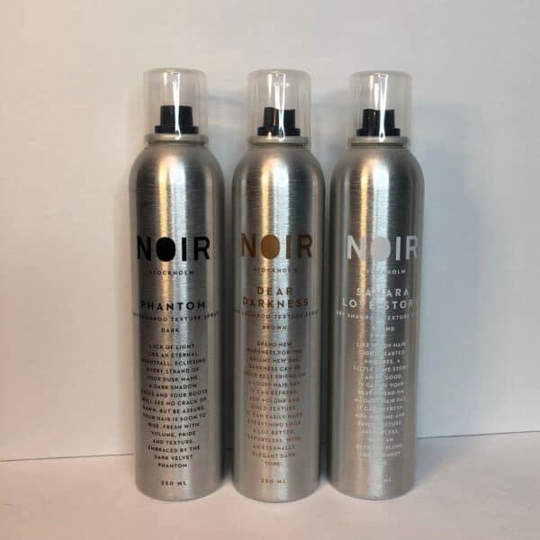 noir dry shampoo
