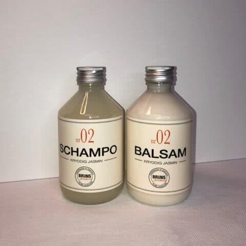 bruns kryddig jasmin